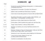Bulletin 40 sommaire