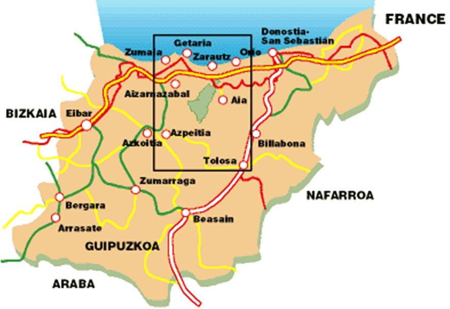 Sortie au Pays Basque 26 et 27 avril 2014 - programme