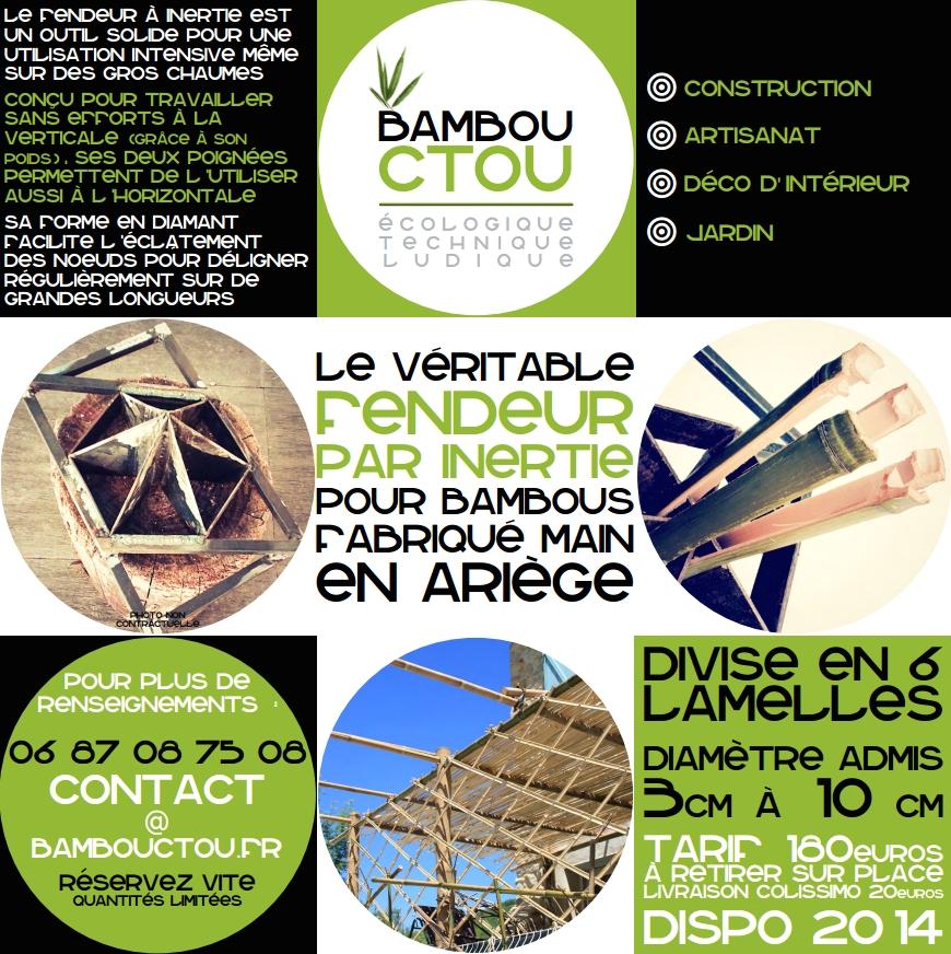 Fendeur de bambous