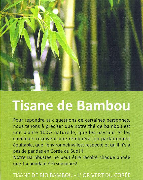 Tisane Bio de Bambou (2/3)