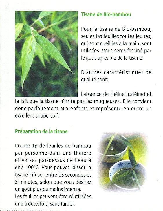 Tisane Bio de Bambou (3/3)
