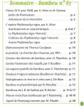 Bambou 67 sommaire